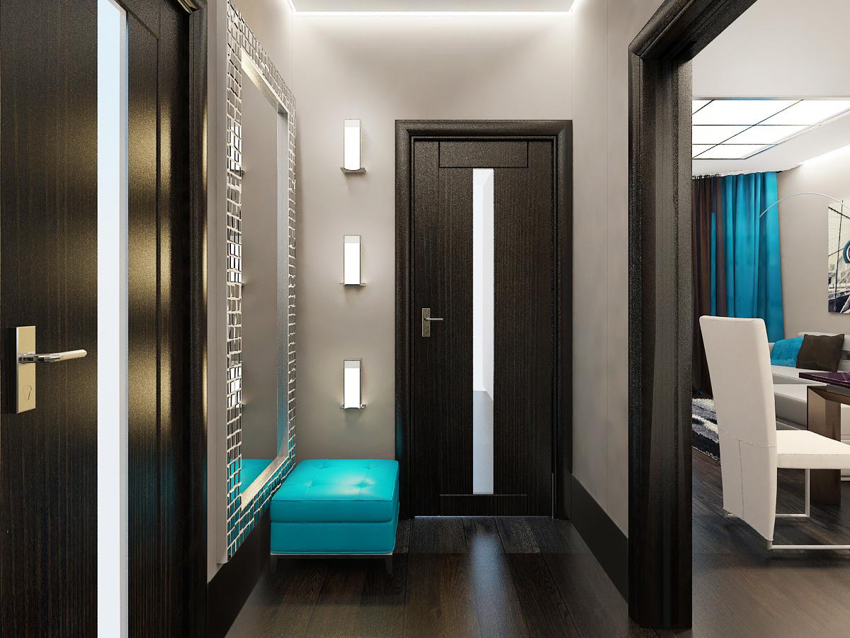 современный дизайн узкого коридора фото глубже вникая тему
